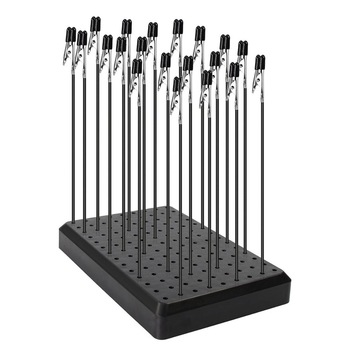 14X9 Holes Painting Stand Base and 10pcs/20pcs Alligator Clips With Rubber Cover Set Updated Modeling Tools Great Gift GJJC09 1