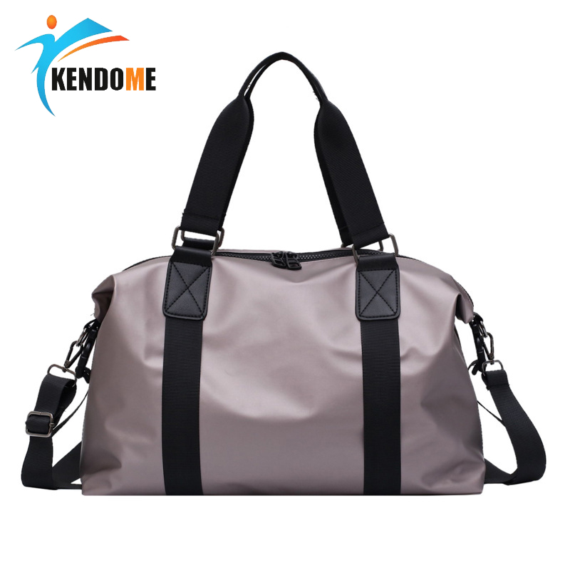 Women Sport Fitness Bag Men Gym Training Shoulder Bag Travel Luggage Handbag Multi-functional Waterproof Nylon Sac De Sport