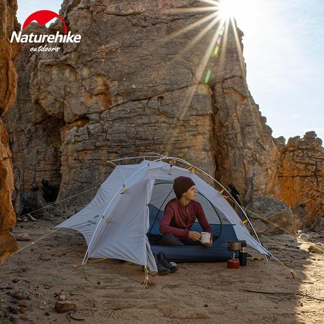 Naturehike Cloud Up Wing 2 Men Tent 15D Nylon Ultralight Portable Windproof Tents 1