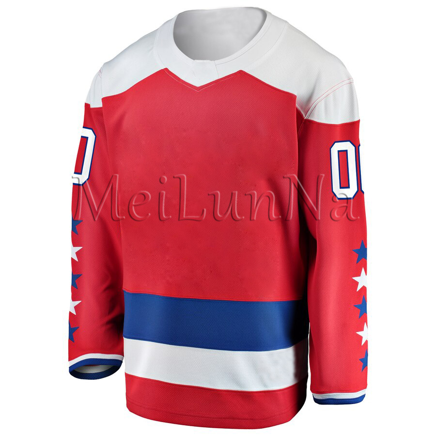 Alexander Ovechkin TJ Oshie Nicklas Backstrom Braden Holtby Kuznetsov Men Women Youth Washington Stadium Red Alternate Jerseys