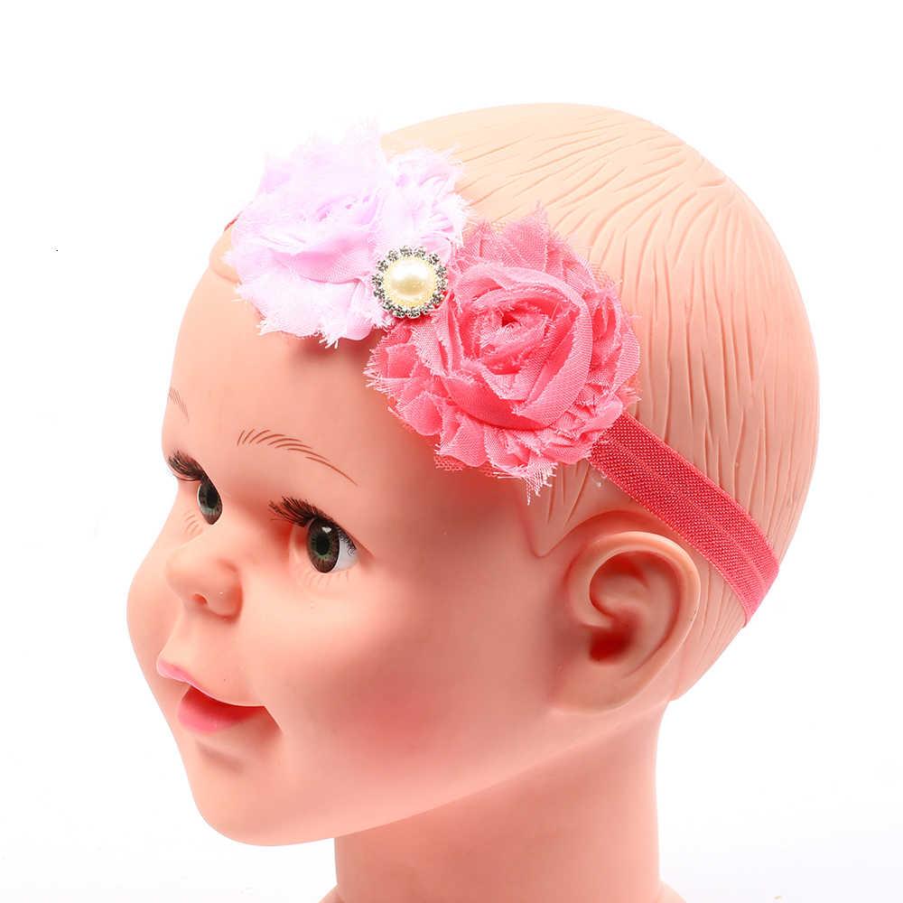 Baby girl ヘッドバンド幼児ヘアアクセサリー花新生児帽子 headwrap バンドヘアバンドギフト幼児弓服