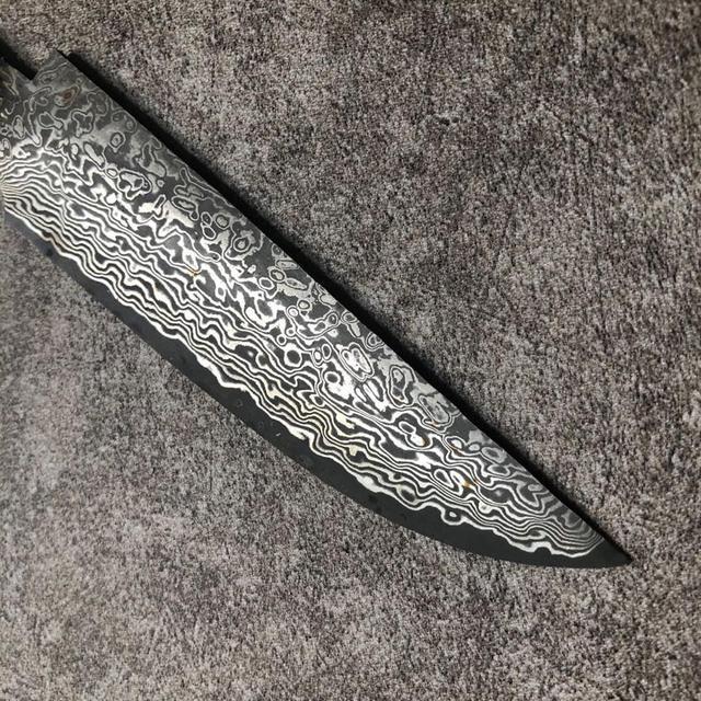Купить высокоуглеродистая сталь дамасский узор охотничьи ножи diy лезвие картинки