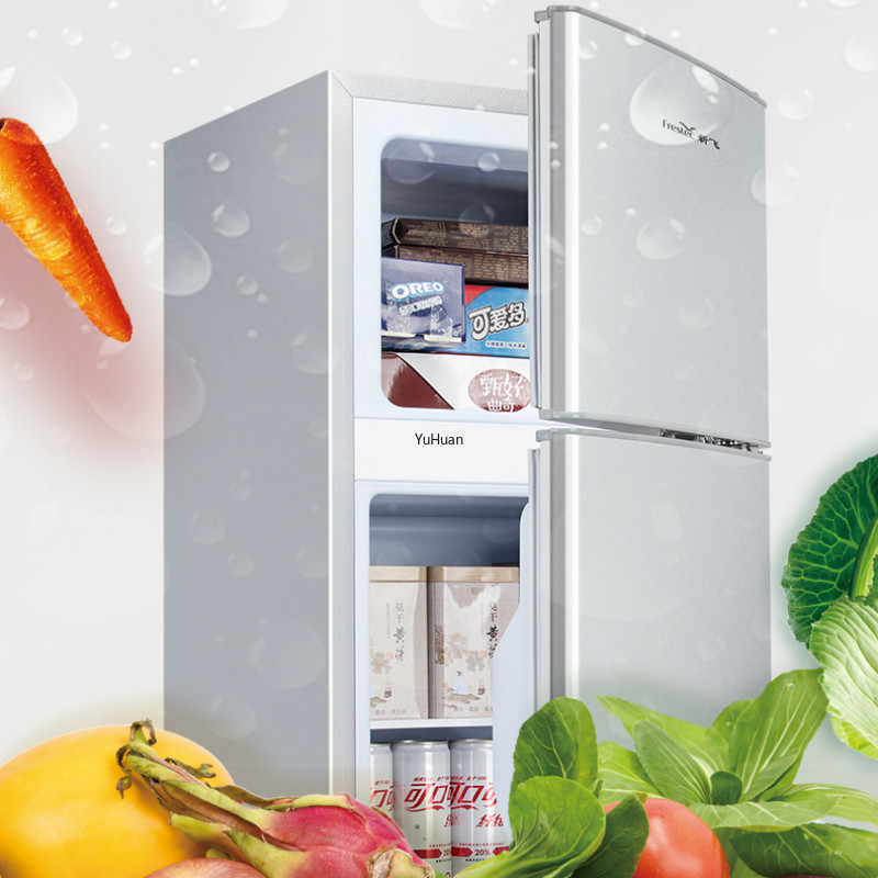 220V 72L Small Household Refrigerators Energy-saving Refrigerators for Rent Office Use Cold Storage & Freezing Refrigerator image
