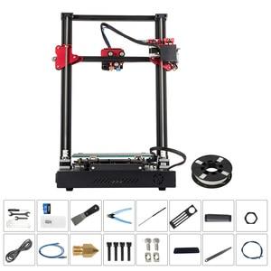 Image 2 - 3D принтер CREALITY, Модернизированный комплект самонивелирующихся 3D принтеров для самостоятельной сборки, 300*300*400 мм, большой размер печати, ЖК экран