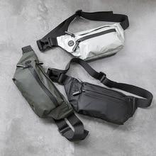 Waterproof Men Waist Bag Fanny Pack Fashion Running Chest Bag Unisex Sling Crossbody Bag Casual Hip Belt Bag men Waist Packs