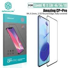 For Xiaomi Mi 11 Mi11 Lite 4G 5G Tempered Glass Full Glue Nillkin CP+PRO Anti Explosion Fully Screen Protector For Xiaomi Mi 11i