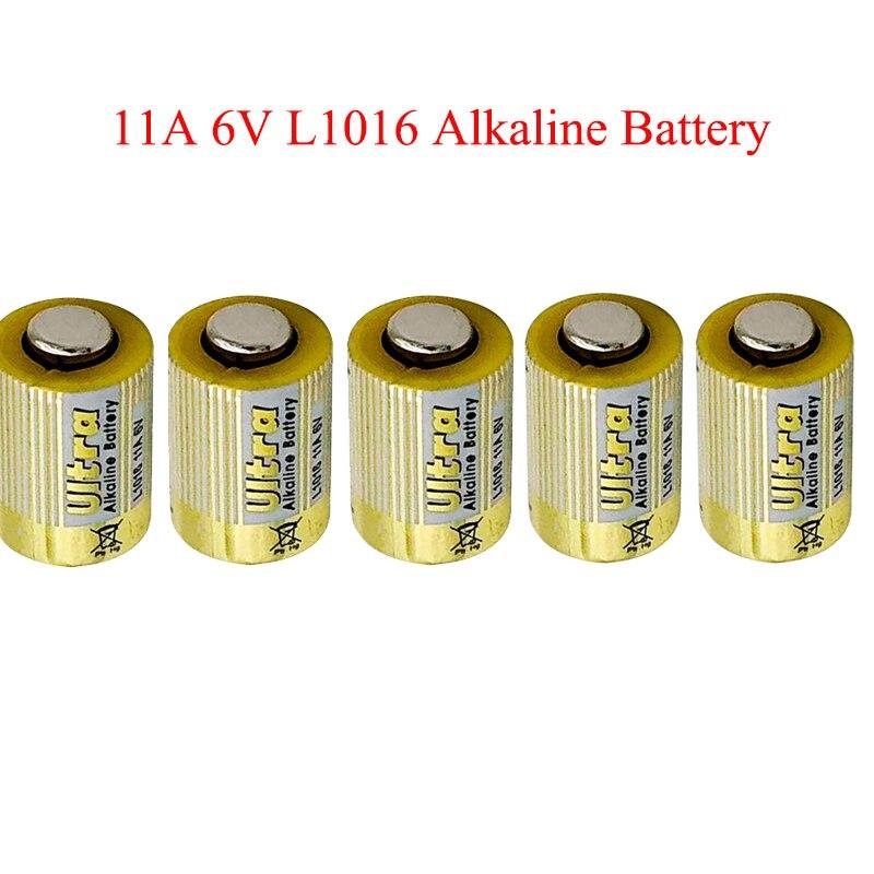 5 ピース/ロット 11A 6 1.4v 一次乾電池 L1016 アルカリ車のキーリモートバッテリー低下の船