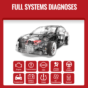 Image 2 - THINKCAR Thinkdriver Professionelle OBD2 Bluetooth für iOS Android Auto Scanner OBD 2 Auto Diagnose Code Reader Automotive Werkzeuge