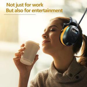 Image 2 - ZOHAN 디지털 AM/FM 라디오 귀 Muffs 전자 귀 보호 소음 전문 청력 보호기 라디오 헤드폰 취소