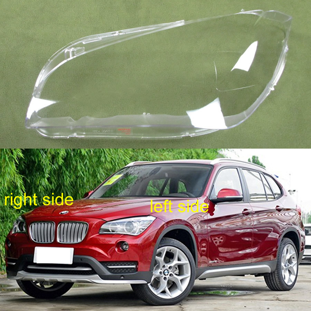 For BMW X1 E84 2010 2011 2012 2013 2014 2015 Lampshade Headlamps Cover Headlight Cover Lampshade Headlights Shell Glass Lens