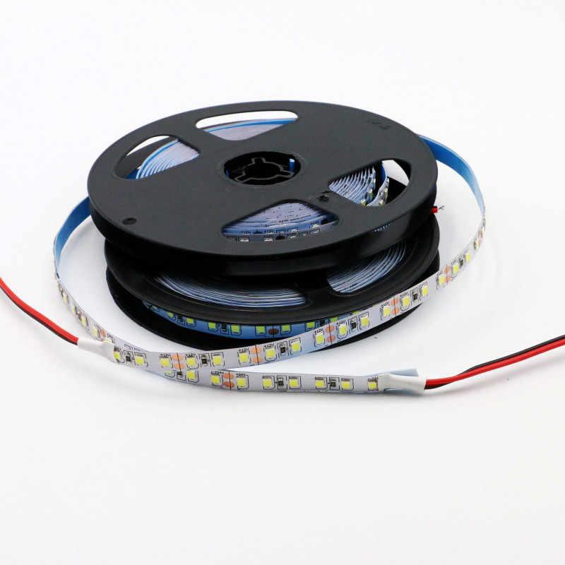 แถบ LED diode Light ห้องครัว LED light เทป backlight 12V 1 m/2 m/3 m /4 m/5 m/10 m 60LED/m 5054 IP67 กันน้ำสีขาวอุ่นสีขาว