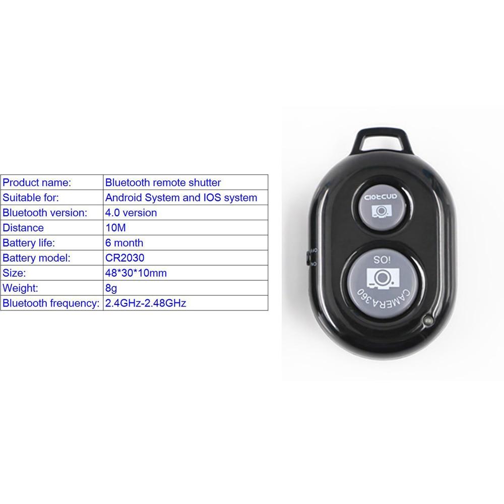 Portable Professional Aluminium Phone Tripod &Remote Shutter&Tripod Phone Holder For Smartphone Iphone7 x XiaomiNote 7 HuaweiP20