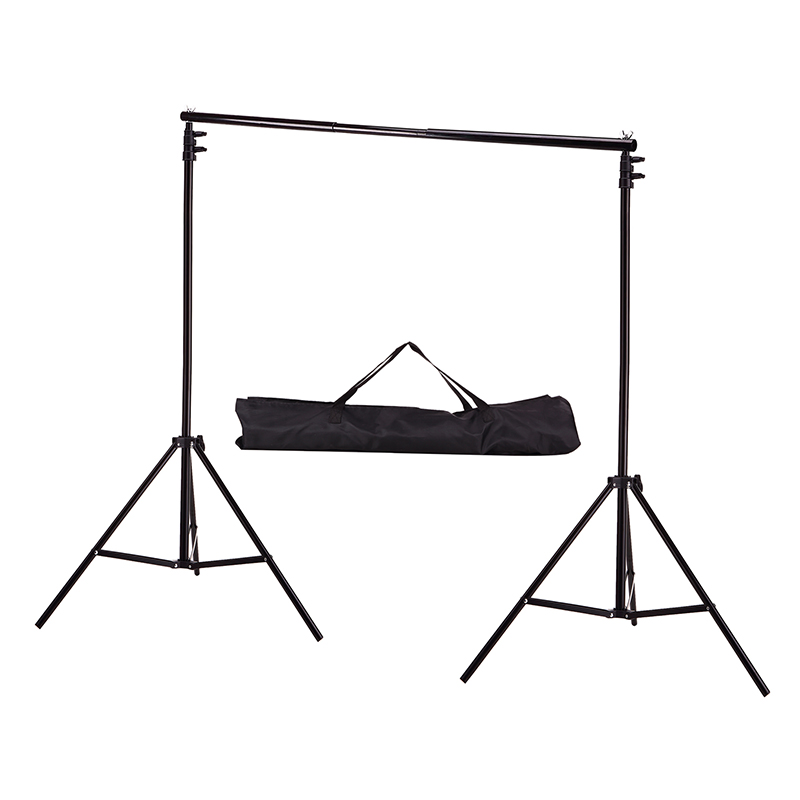 Backdrop Photo-Background-Support-System-Stands Photo-Studio Adjustable 2M