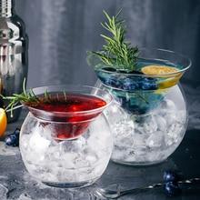 Тип конуса и Сфера База коктейльное стекло набор ведро льда льдом Alviero мартини молекулярная Миксология смузи чашка для мороженого