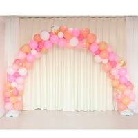 1set Wedding Birthday Baby Shower Anniversary Party Balloon Garland Arch Stand Connectors Latex Air Globos Ballon Decorations