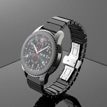 22มม.เซรามิคนาฬิกาสำหรับSamsung GalaxyสำหรับนาฬิกาHuawei GT2e/GT2นาฬิกาสำหรับSamsungเกียร์S3นาฬิกา