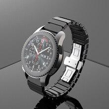 22mm אוניברסלי קרמיקה שעון רצועת לסמסונג גלקסי שעון להקת עבור Huawei GT2e/GT2 שעון צמיד עבור Samsung הילוך S3 שעון