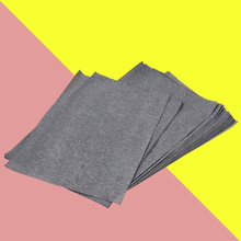 50 Sheets/Bag Transfer Paper Tracing Paper Graphite Carbon Paper Painting Carbon Coated Paper (Gray and Black)