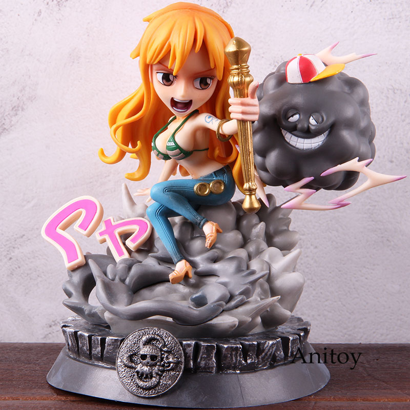 Anime One Piece Nami Figure GK Statue PVC One Piece Nami Action Figure Collectible Model Toy 18cm