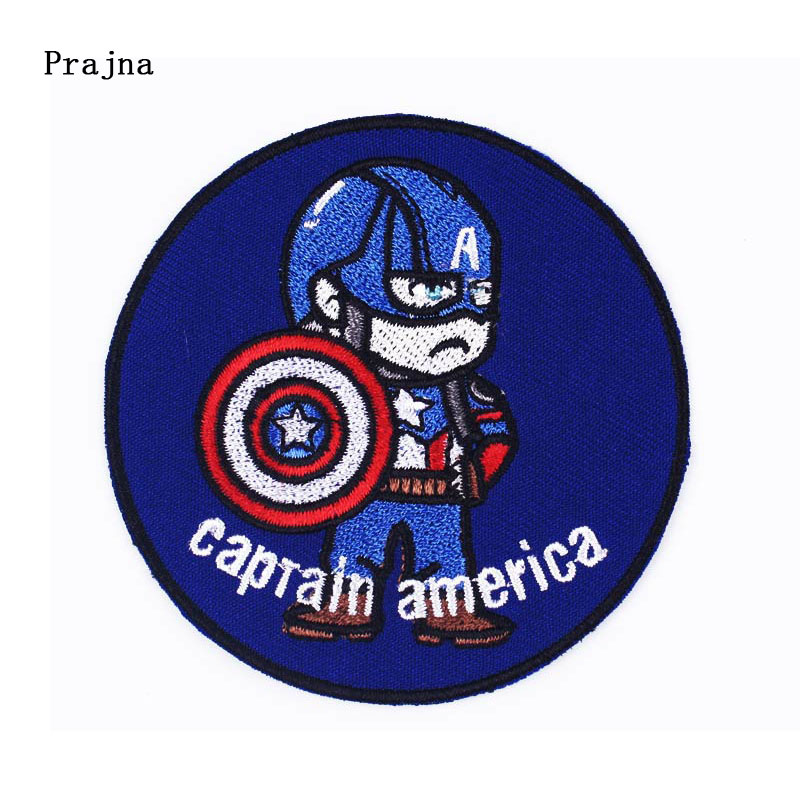 Prajna DIY <font><b>Marvel</b></font> Sewiron On <font><b>Patches</b></font> On Clothes Stripe Cartoon Alien Punk <font><b>Patch</b></font> Spaceship Embroidered <font><b>Patches</b></font> <font><b>For</b></font> <font><b>Clothing</b></font> F image