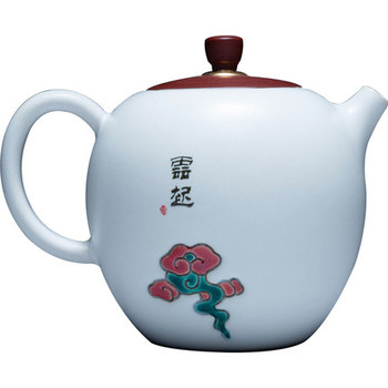 Ceramic Teapot Maker White Porcelain Xishi Pot Household Flower Tea Single Pot Chinese Kung Fu Black Tea Da Hong Pao Teaware