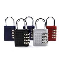 Combination Padlock for Gym School Employee Locker Toolbox Case Hasp and Storage Combination Lock Padlock 4 Digit Padlock