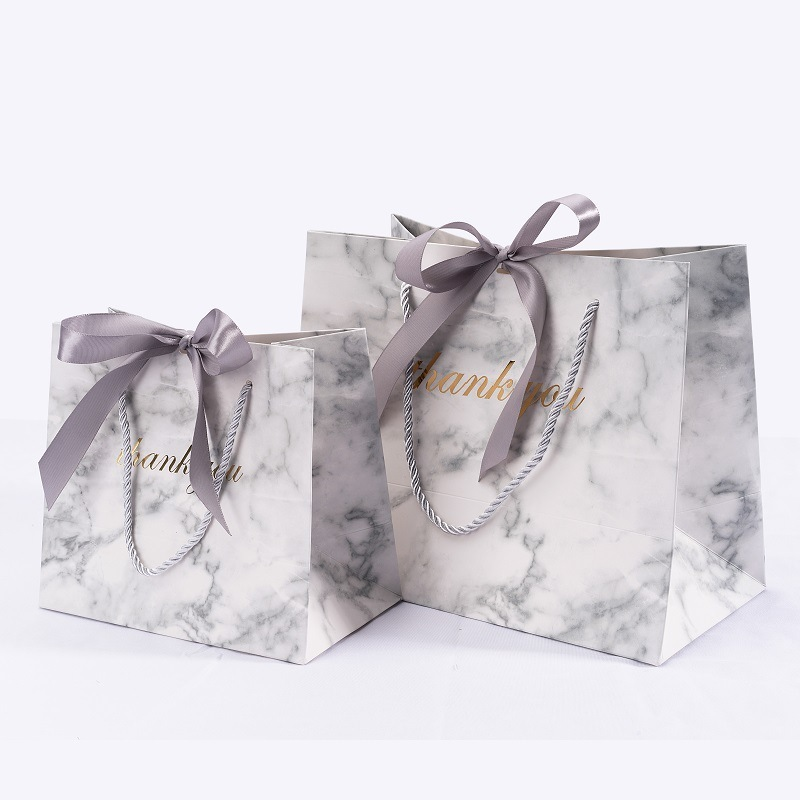 Marble Clothing Cosmetic Shopping Paper Bag Birthday Packaging Gift Box коробка упаковка Gift Bag Papieren Zakjes коробка картон