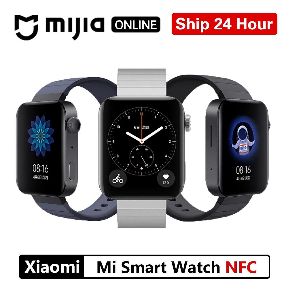Permalink to Xiaomi Mi Smart Watch GPS WIFI Bracelet Android Wrist watch NFC Sport Bluetooth Fitness Heart Rate Monitor Tracker True Wireless