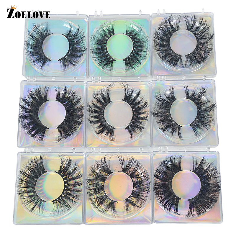 Box Lash Dramatic Curly In-Bulk-25mm Wholesale Soft