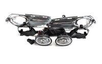 1set car bumper headlight for Honda HRV fog light HR V 2014~2017y halogen bulb 4300K Wire of hanress Headlamp for HR V fog lamp