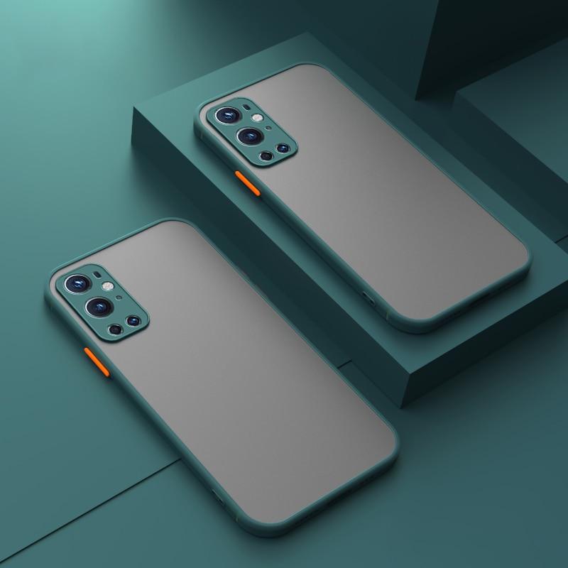 Матовый полупрозрачный чехол для Oneplus X 9 Pro чехол для телефона чехол силиконовый чехол с рамкой жесткий однотонный чехол для задней панели ч...