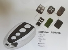 remote control duplicator 100% compatible with  NICE FLO1R-S FLO2R-S  FLO4R-S 433.92 MHz Rolling Code original nice flor s remote control 433 92mhz nice flo2r s universal garage gate door remote control including battery