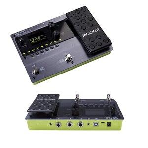 Image 5 - MOOER GE150 najnowszy wpis w linii GE pedał efektów 55 wysokiej jakości modeli amp i 151 różnych efektów
