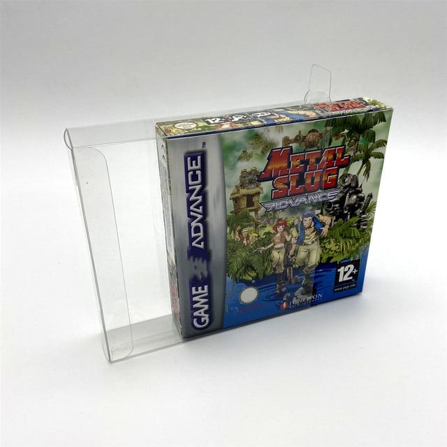 جمع شاشة عرض صناديق صندوق صندوق واقي صندوق تخزين مناسبة للنسخة الأوروبية والأمريكية من Gameboy GBA GBASP GB GBC