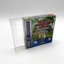 Kolekcja wyświetlacz box pudełko ochronne schowek nadaje się do europejskiej i wersja amerykańska Gameboy GBA GBASP GB GBC