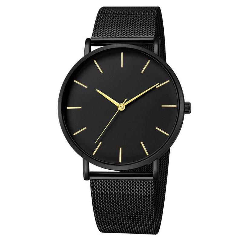 Mreurio мужские часы в минималистском стиле ультра тонкий Простой