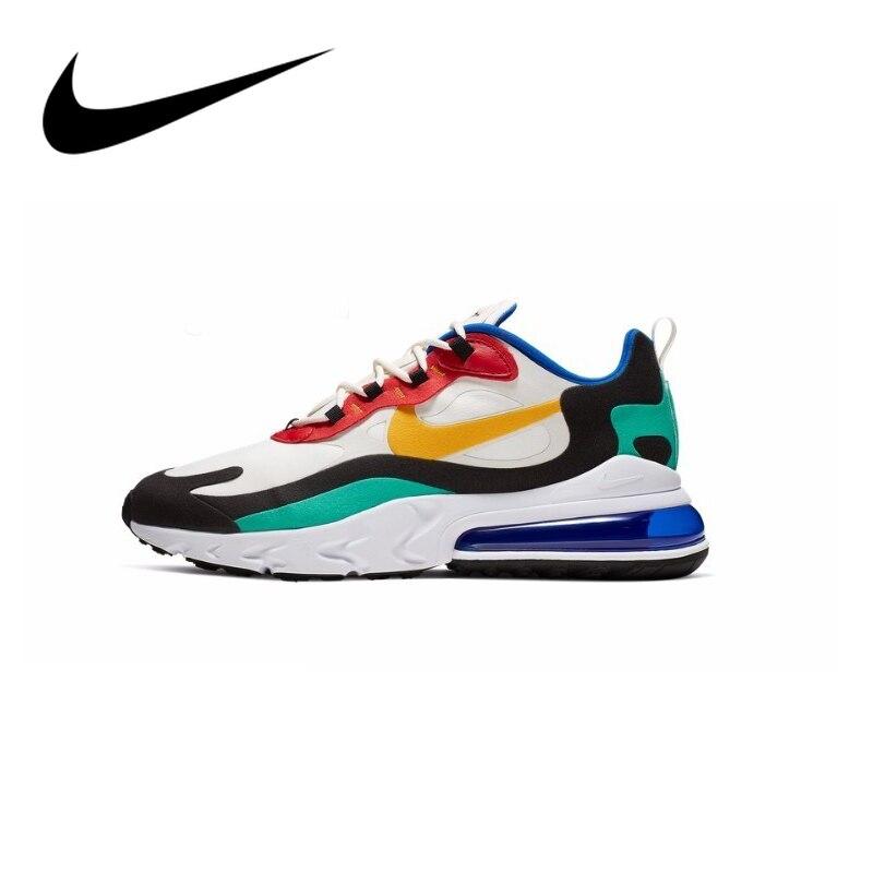 Original autêntico nike air max 270 reagir sapatos de corrida dos homens tendência esportes ao ar livre sapatos 2019 novos sapatos de treinamento AO4971-002