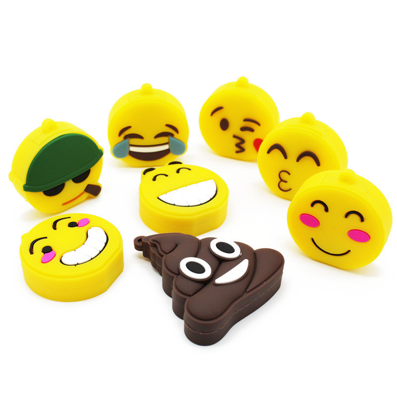 BiNFUL Mini Cute Cartoon Emotion Expression Usb2.0  4GB 8GB 16GB 32GB 64GB Pen Drive USB Flash Drive Creative GiftyPendrive