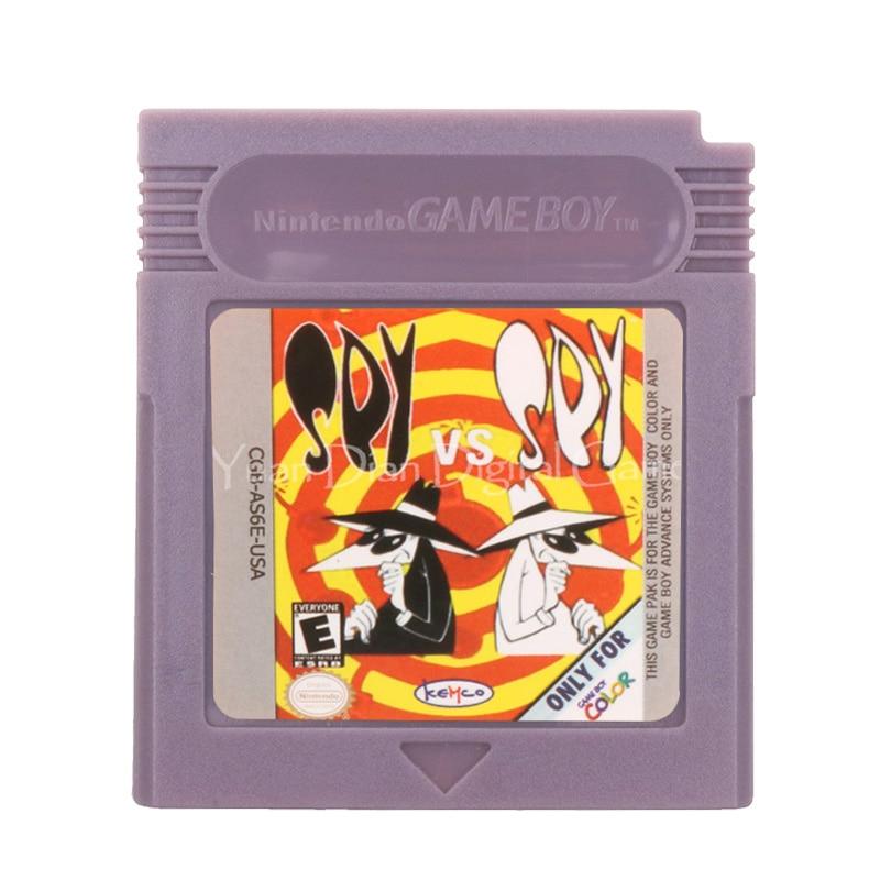 For Nintendo GBC Video Game Cartridge Console Card SpyVSSpy English Language Version 1