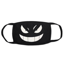 Anti Dust Mask For Kpop Mouth Medical Masks Black Cotton Cartoon Anime Mask Winter Face Halloween Masque Anti Pollution