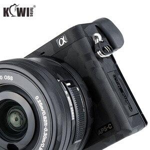 Image 3 - מצלמה גוף מדבקת נגד שריטות כיסוי מגן סרט ערכת עבור Sony Alpha A6000 + SELP1650 16 50mm עדשה 3M מדבקת צל שחור