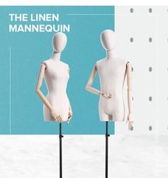 Couture mannequin robe forme tailleur Mannequin Mannequin vêtements magasin utiliser homme femme Mannequin mannequin modèle Stand