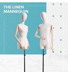 Kleid form Mannequin Kleidung Shop Verwenden Männlich-weibliche Dummy Mannequin Modell Stehen