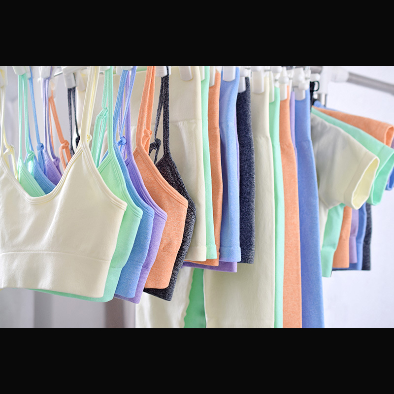 Seamless Women Yoga Set Workout Shirts Sport Pants Bra Gym Suits Fitness Shorts Crop Top High Waist Running Leggings Sports Sets 6