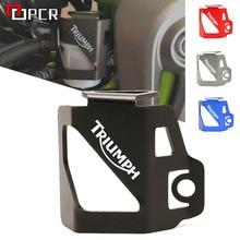 LOGO TRIUMPH tył motocykla zbiornik płynu osłona Protector pasuje do Triumph Daytona 600 650 675 TIGER 800 XR/XCA/XRX/XRT