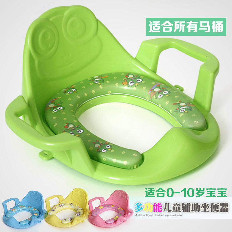 Large Size Toilet For Kids CHILDREN'S Toilet Seat Men And Women Baby Toilet Seat Toilet Mat Baby Toilet With Padded