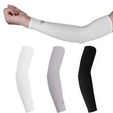 2 pçs braço mangas aquecedores esportes manga sol proteção uv capa de mão refrigeração aquecedor correndo pesca ciclismo esqui mangas para brazo