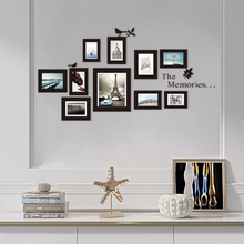 Wall-Mounted Photo Frame Sticker Photo Frame Mural Photo Frame Decor Picture Decor DIY Home Wall Stickers 10x 10x Bed 100pcs paper photo frame set picture mats mini wooden clips string hanging cardboard picture frame for home room wall decor diy