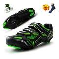 Кроссовки для горного велосипеда, спортивная обувь для езды на велосипеде, профессиональная спортивная и самозакрывающаяся дорожная велос...