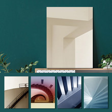 Abstract Poster Print Canvas Painting Building Landscape Stairs Space Pictures Wall Art for Living Room Home Decor Drop Shipping wall art canvas painting stairs corridor space buildings abstract poster print pictures for living room home decor drop shipping